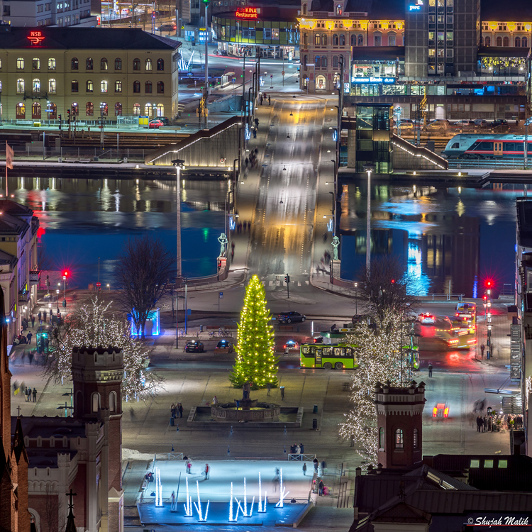 Drammen brua Juletre-2